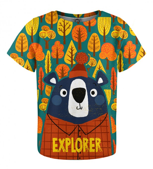 Bear Explorer t-shirt for kids Thumbnail 1