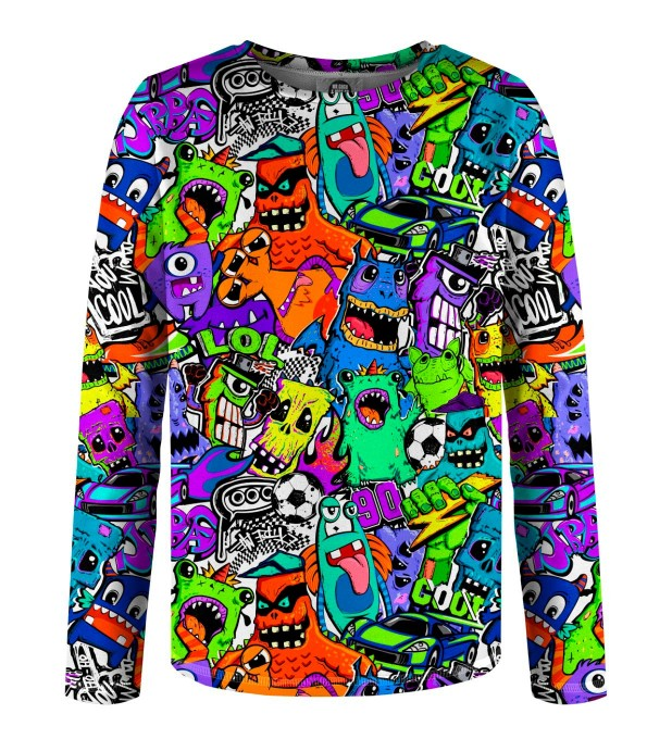 Colorful Monsters Kinder Langarmshirt Miniaturbild 1