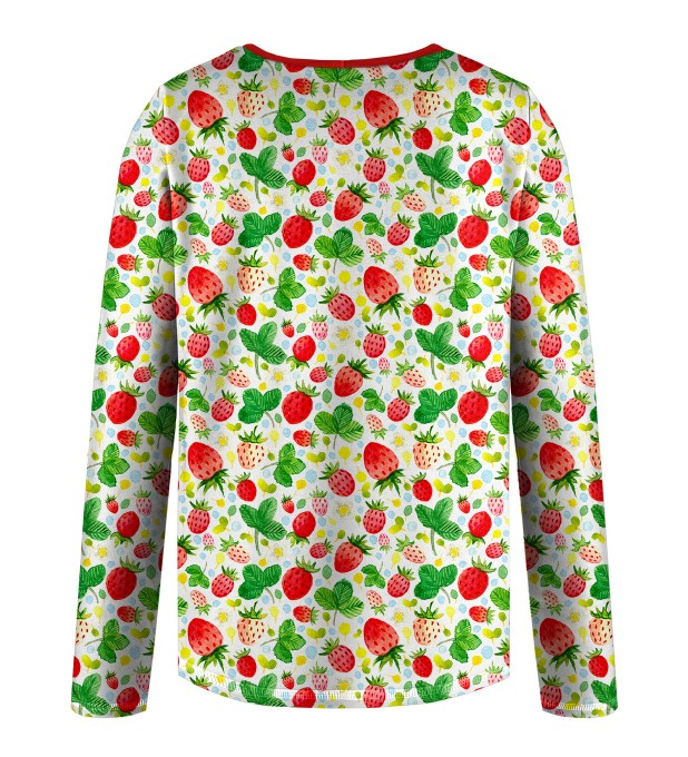Strawberries Pattern Kids Longsleeve аватар 2