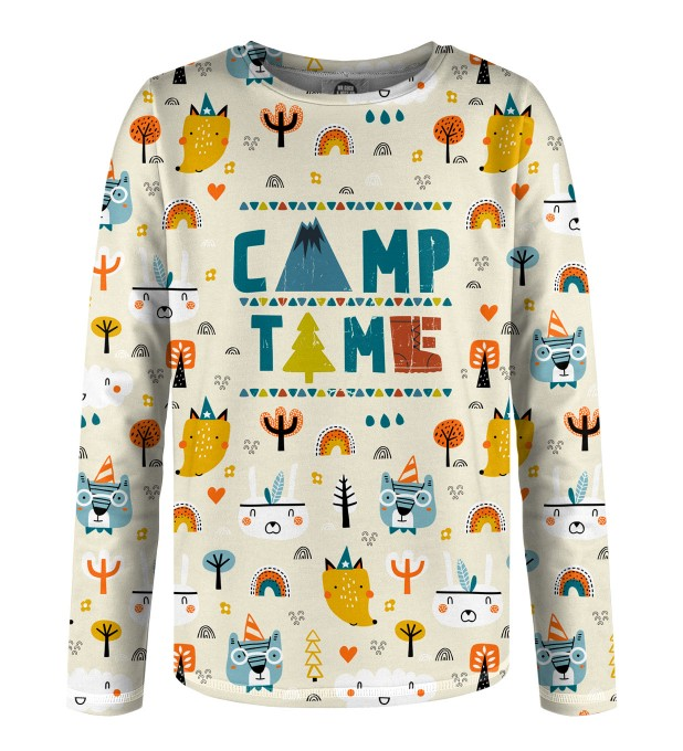 Camp Time Kinder Langarmshirt Miniaturbild 1