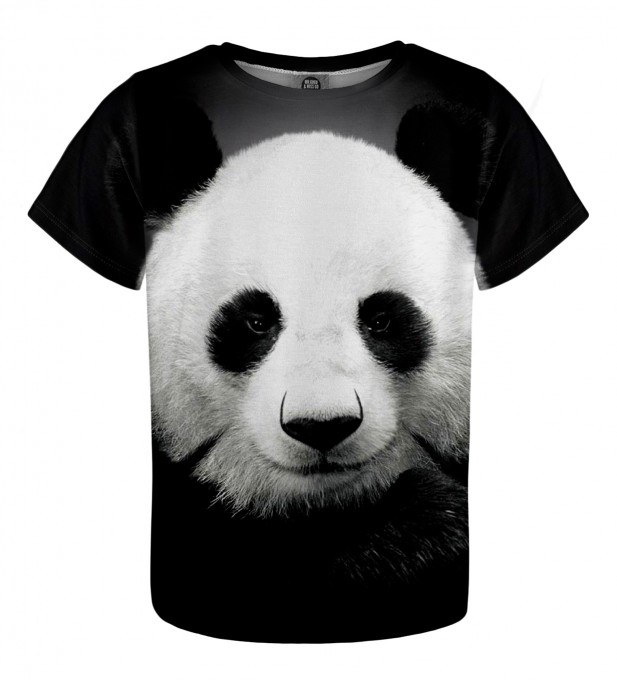 Panda t-shirt for kids Miniature 1