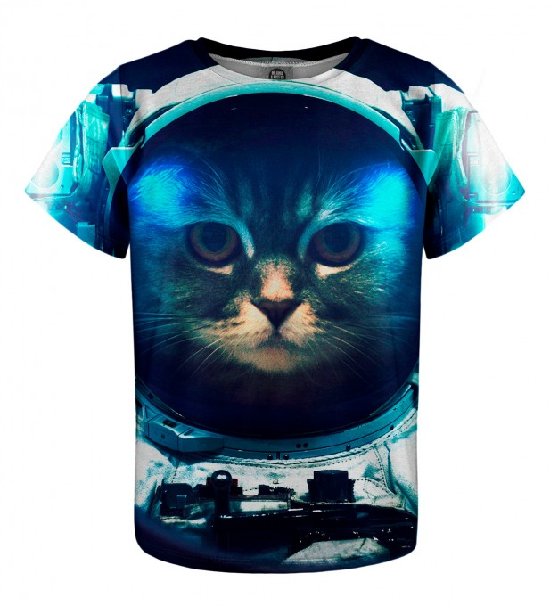 Space Cat t-shirt for kids Miniatura 1