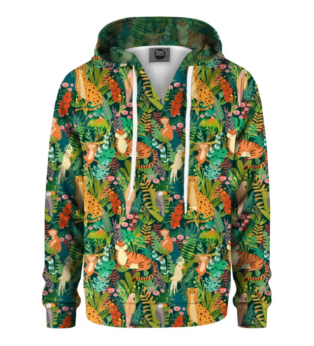 In the Jungle Kinder Kapuzenpullover Miniaturbild 1