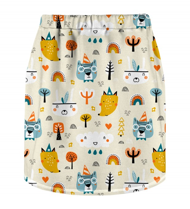 Camp Time Skirt for kids Miniature 2