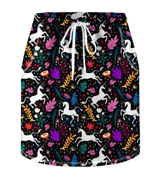 Folk Unicorn Skirt for kids Miniature 1