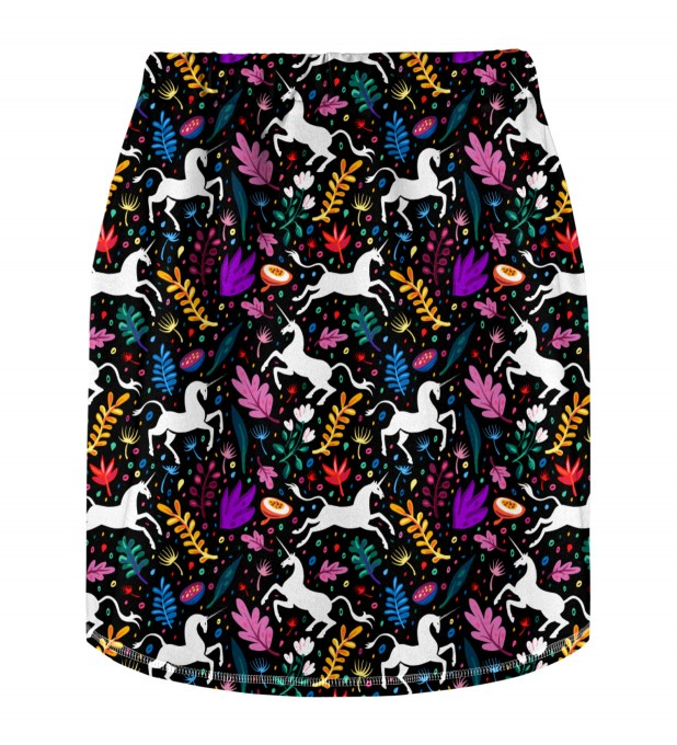 Folk Unicorn Skirt for kids Miniature 2