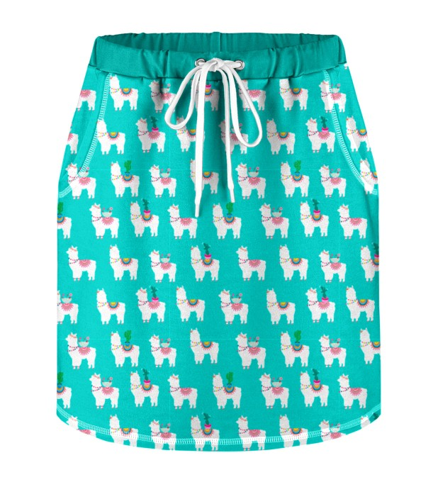 No Drama Llama Skirt for kids Miniature 1