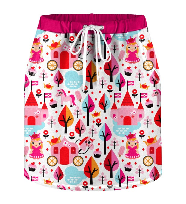 Princess Pattern Skirt for kids Miniature 1