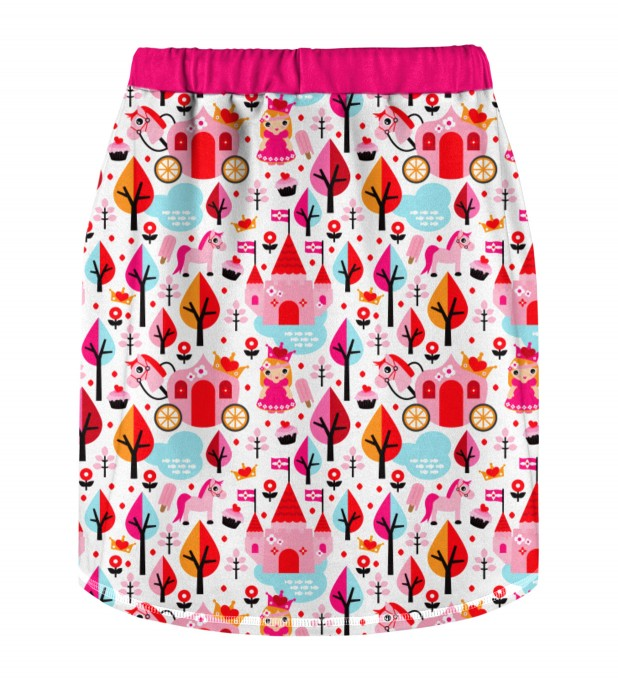 Princess Pattern Skirt for kids Miniature 2