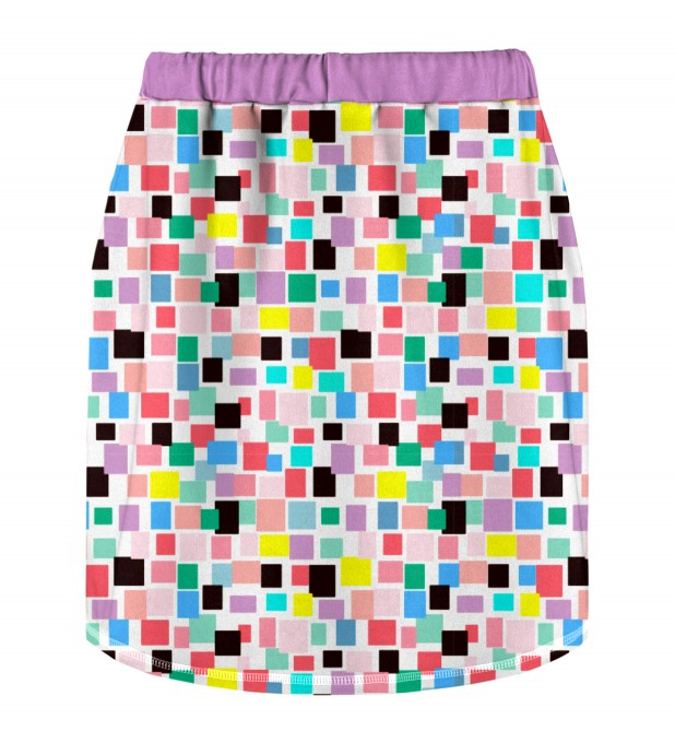 Rectangles Skirt for kids Miniature 2