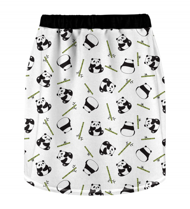 Rolling Pandas Skirt for kids Miniature 2