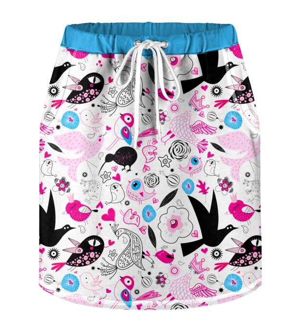 Sweet Birds Skirt for kids Thumbnail 1