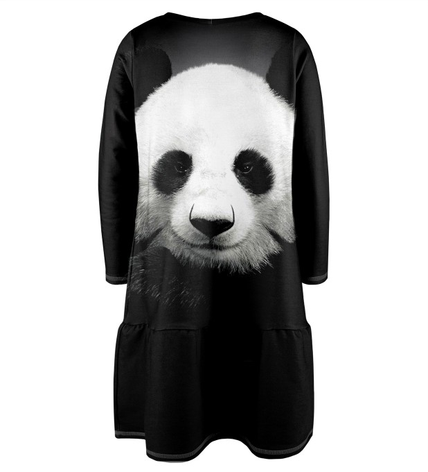 Panda Longsleevess dress for kids Miniature 2