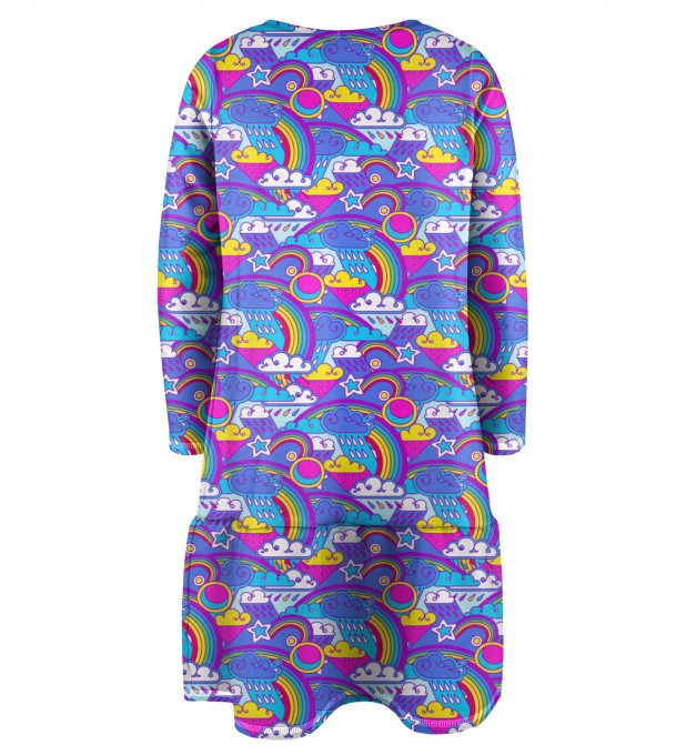 Caticorn Longsleevess dress for kids Miniature 2