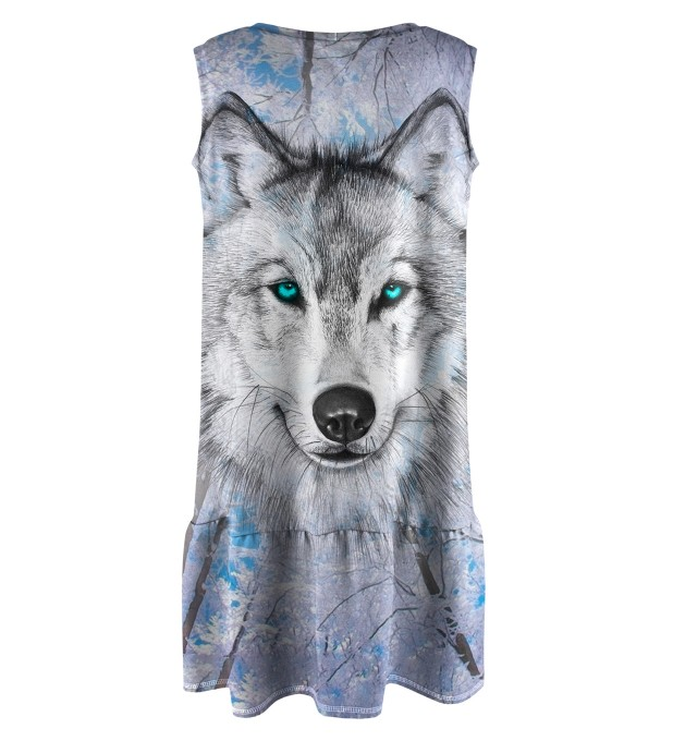 Wolves Sleeveless dress for kids Miniature 2