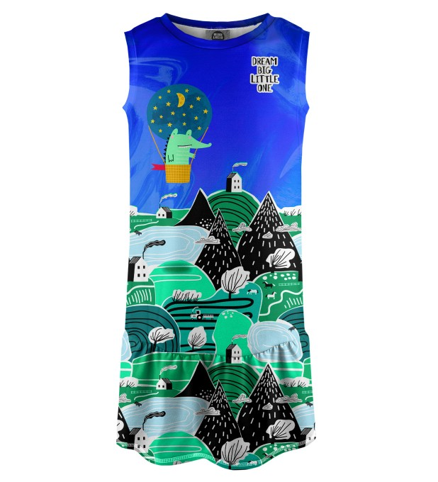 Dream Big Sleeveless dress for kids Miniature 1