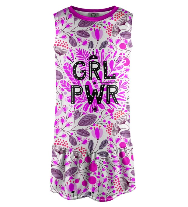Grl Pwr Sleeveless dress for kids Thumbnail 1