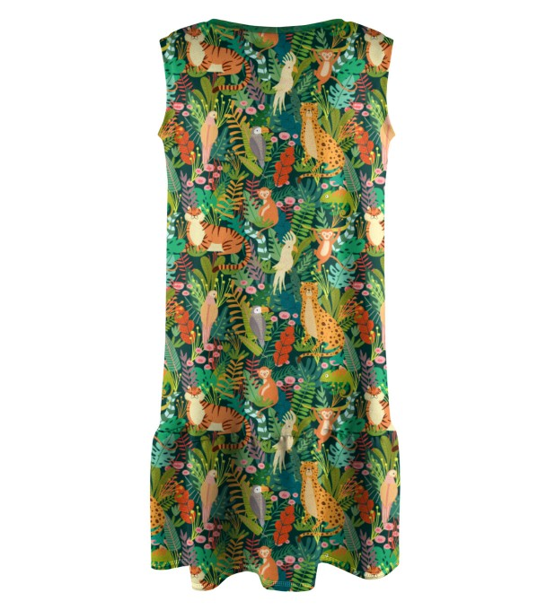 In the Jungle Sleeveless dress for kids Miniature 2