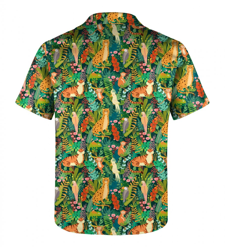 Mr. Gugu & Miss Go, In the Jungle Shirt for kids Imagen $i