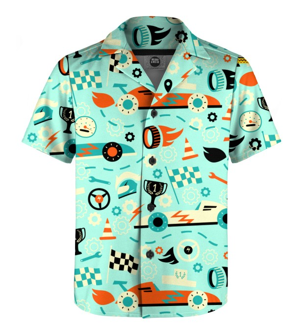 Racing F-1 Shirt for kids Miniature 1