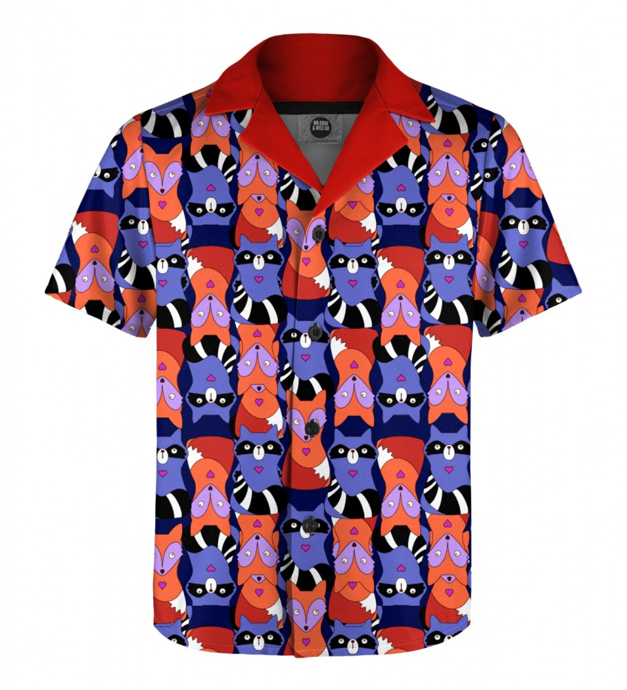 Mr. Gugu & Miss Go, Raccoons'n'foxes Shirt for kids Image $i