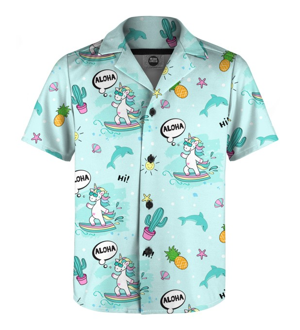 Surfing Unicorn Shirt for kids аватар 1