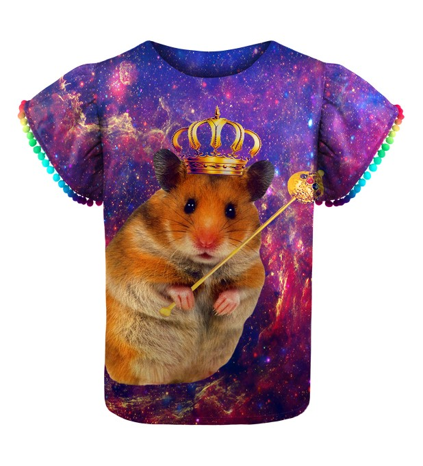 King Hamster Girls Top Thumbnail 1