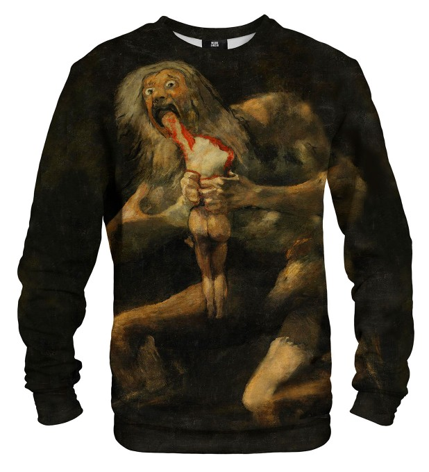 Saturn Devouring His Son sweatshirt Miniaturbild 1