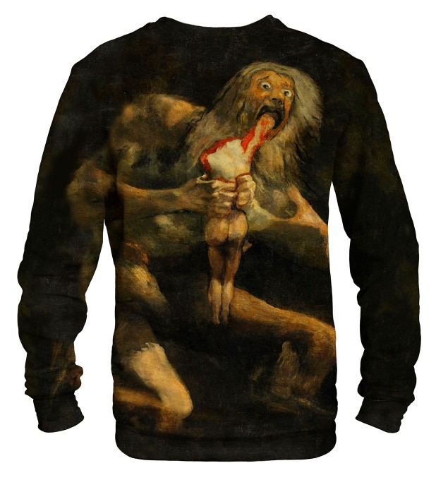 Saturn Devouring His Son sweater Miniatura 2