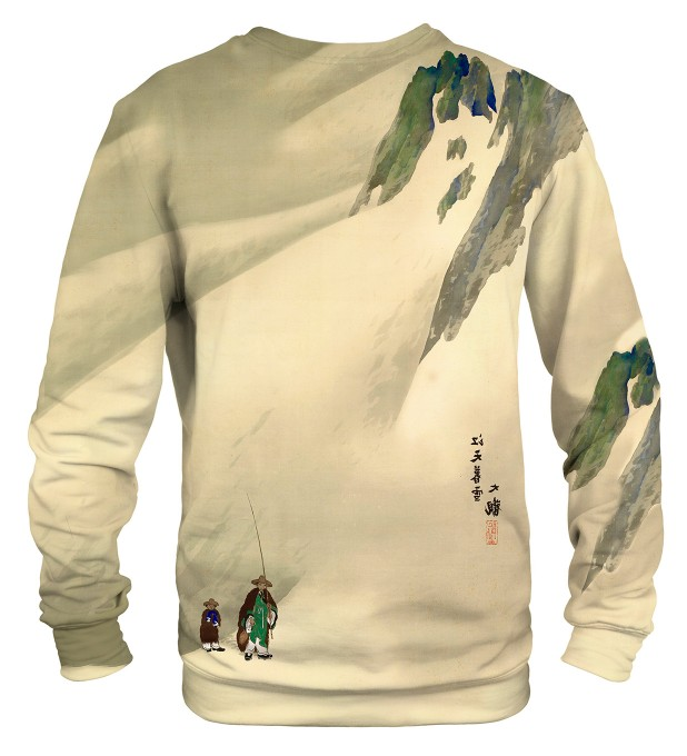 River Sky in Evening Snow sweater аватар 2