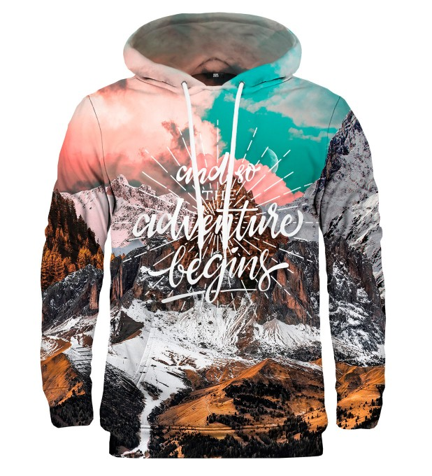 Adventure Begins hoodie Miniature 2