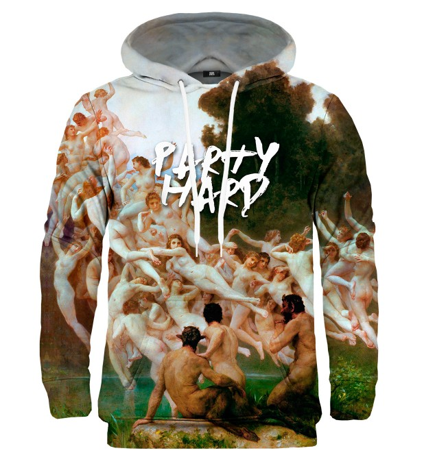 Party hard hoodie Thumbnail 1