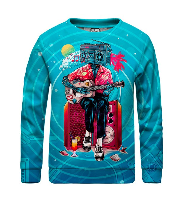 Music Wave sweater for kids Miniatura 1