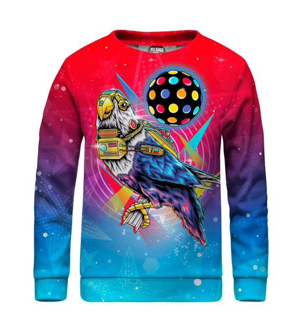 Disco Bird sweater for kids Thumbnail 1