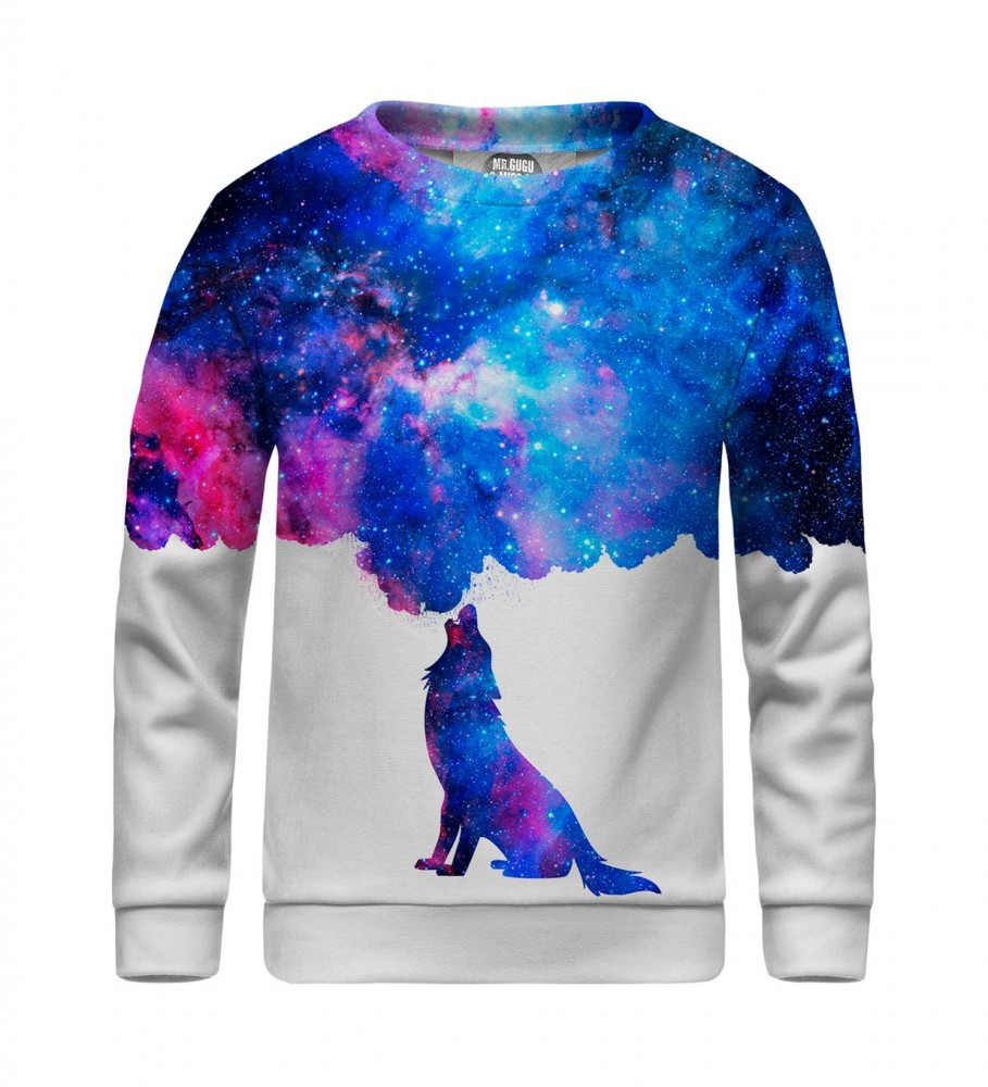 Mr. Gugu & Miss Go, Howling to galaxy sweater for kids  Immagine $i