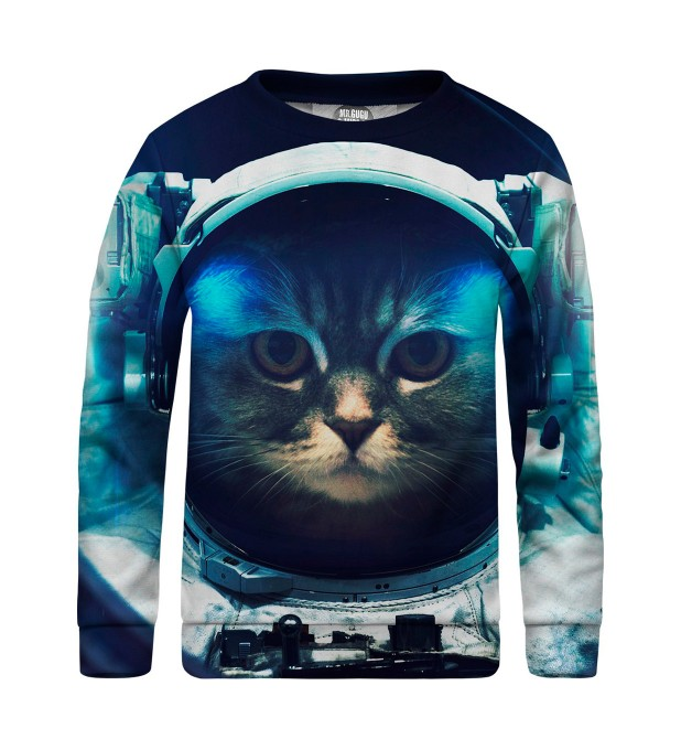 Space Cat sweater for kids  Miniatura 1