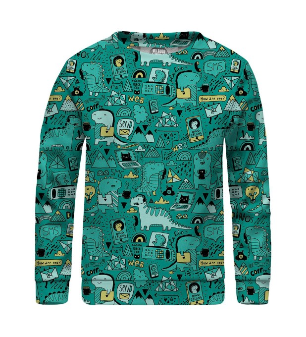 Dino Tech sweater for kids Thumbnail 1