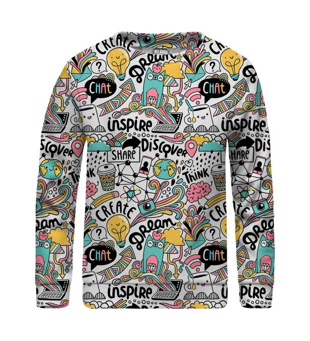 Head of Artist sweater for kids Miniatura 1