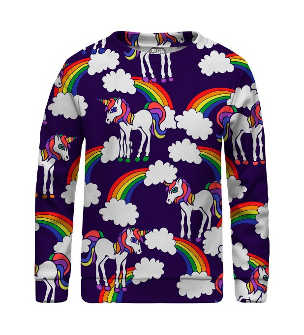 Rainbow Unicorns sweatshirt für Kinder Miniaturbild 1