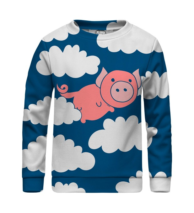 Flying Pigs sweater for kids Thumbnail 1