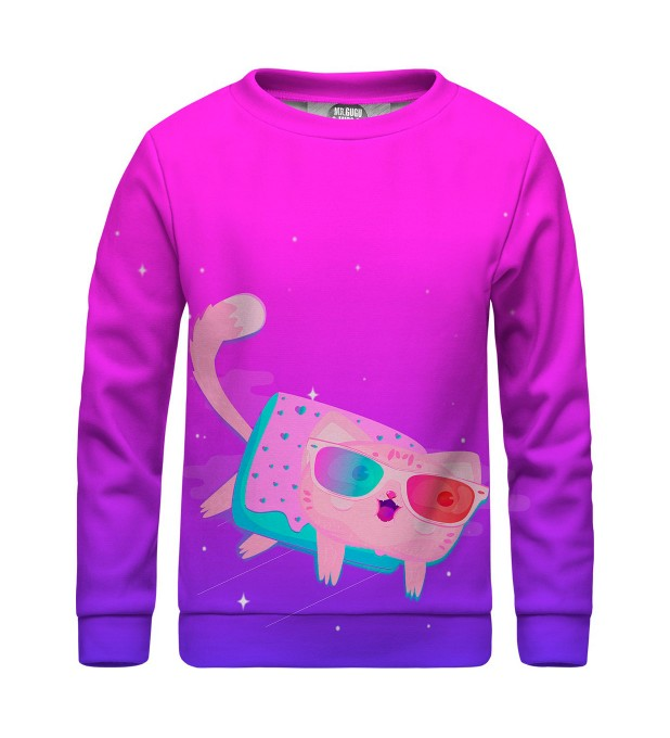 Flying cat sweater for kids Miniatura 1