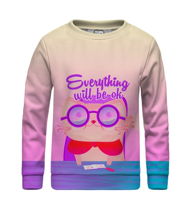 Everything will be OK sweater for kids Thumbnail 1