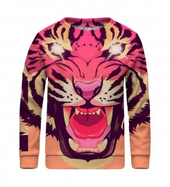 Mr. Gugu & Miss Go, Comic tiger sweater for kids Thumbnail $i