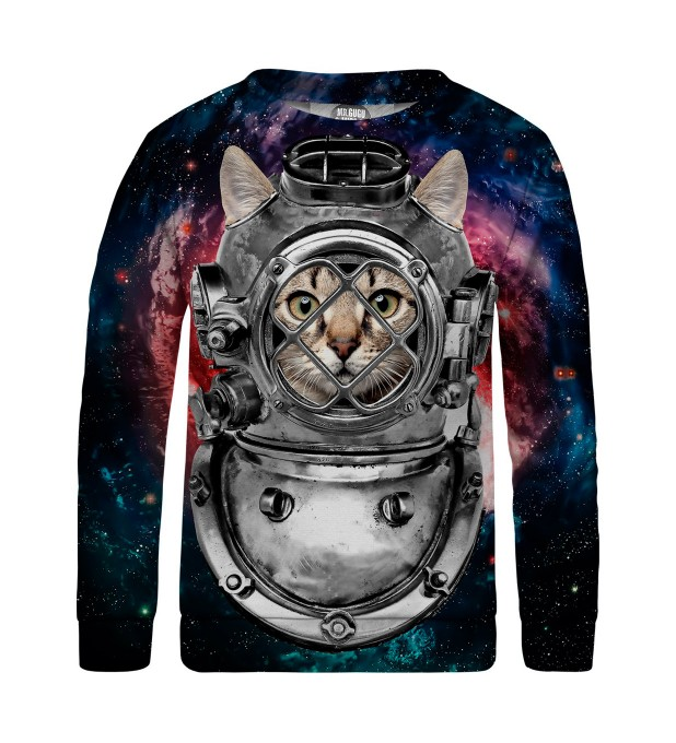 Astronaut cat sweater for kids Miniatura 1