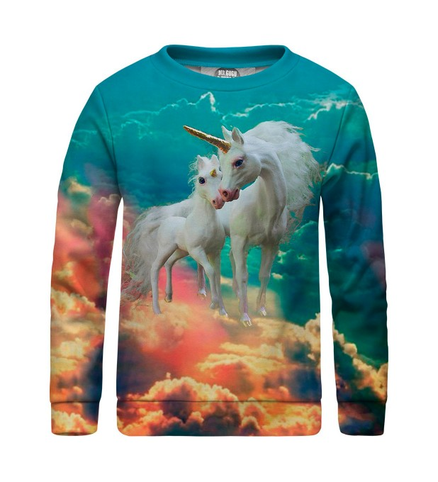 Unicorns family sweater for kids Miniature 1