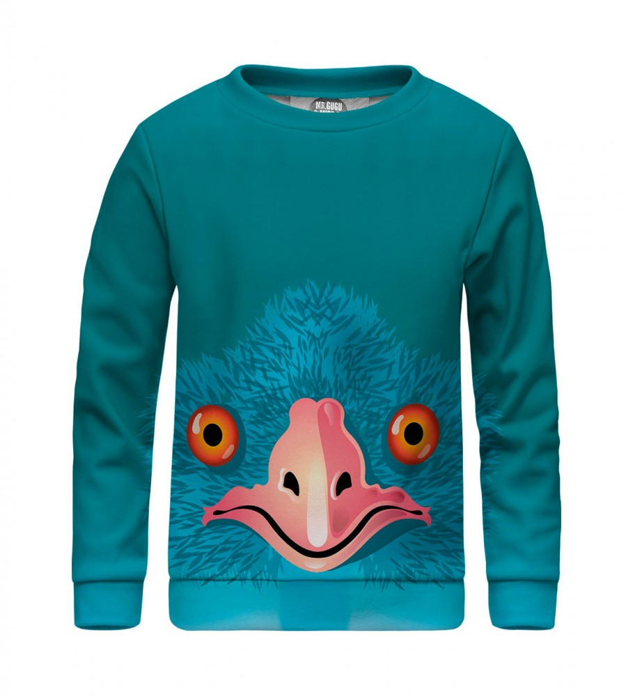 Mr. Gugu & Miss Go, Bird sweater for kids Фотография $i