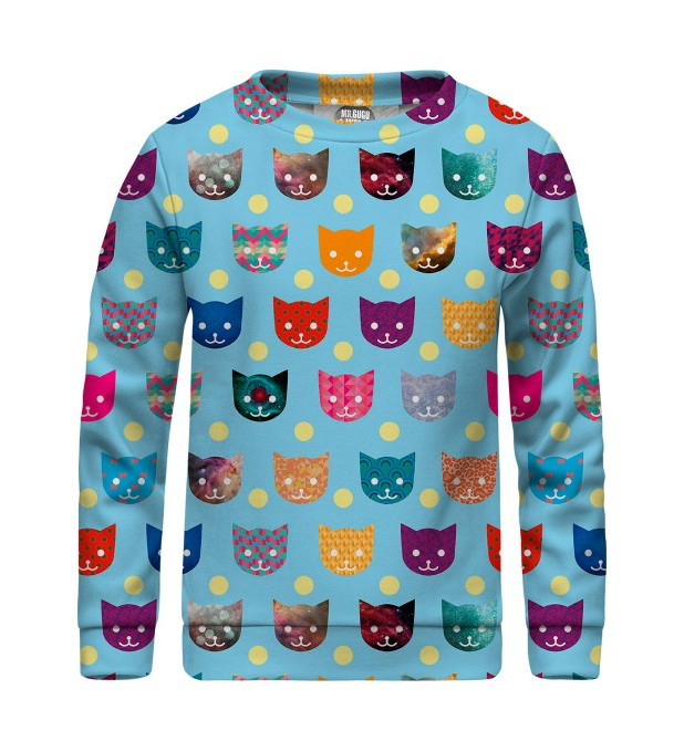 funny cats sweater for kids Thumbnail 1