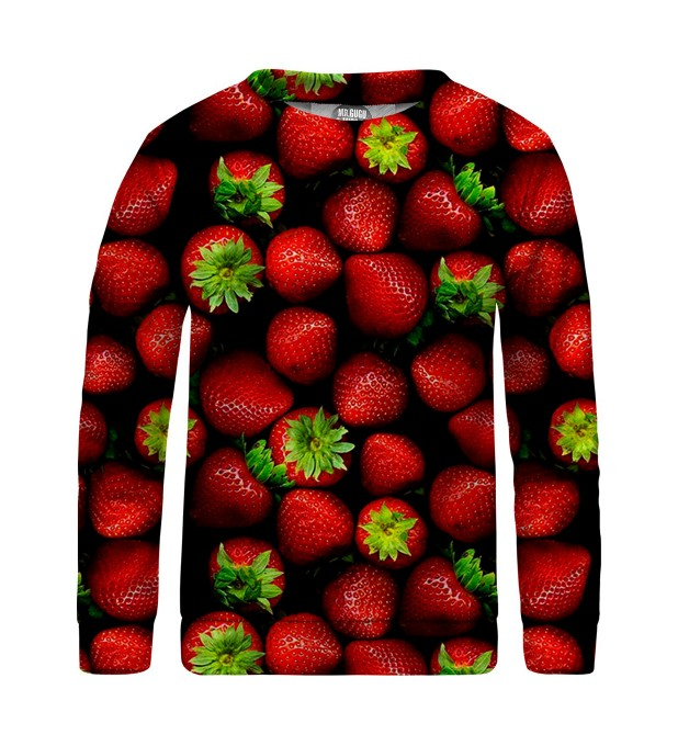 Strawberries sweater for kids Miniature 1