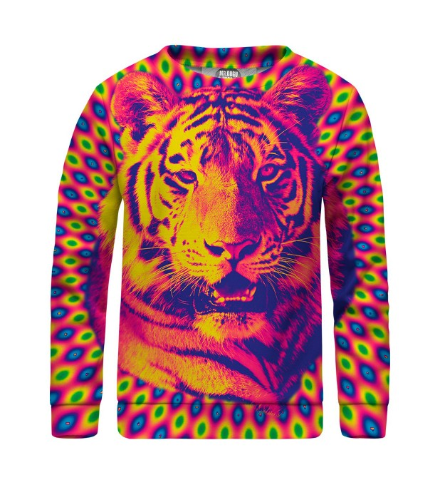 Crazy Tiger sweater for kids Thumbnail 1
