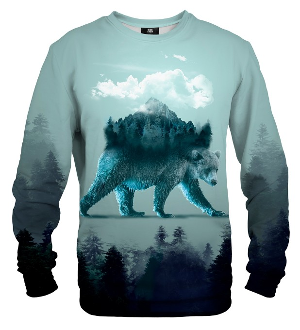 Bear in mind sweatshirt Miniaturbild 2